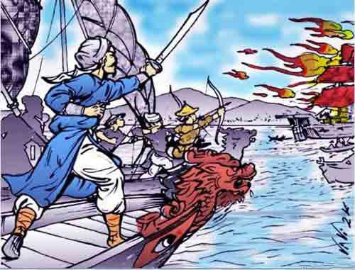 Dưới thời trị vì của mình, vua Trần Nhân Tông đã lãnh đạo quân dân Đại Việt 2 lần đánh bại giặc Mông - Nguyên xâm lược vào các năm 1285 và 1287-1288. Ảnh: Bảo tàng Lịch sử.