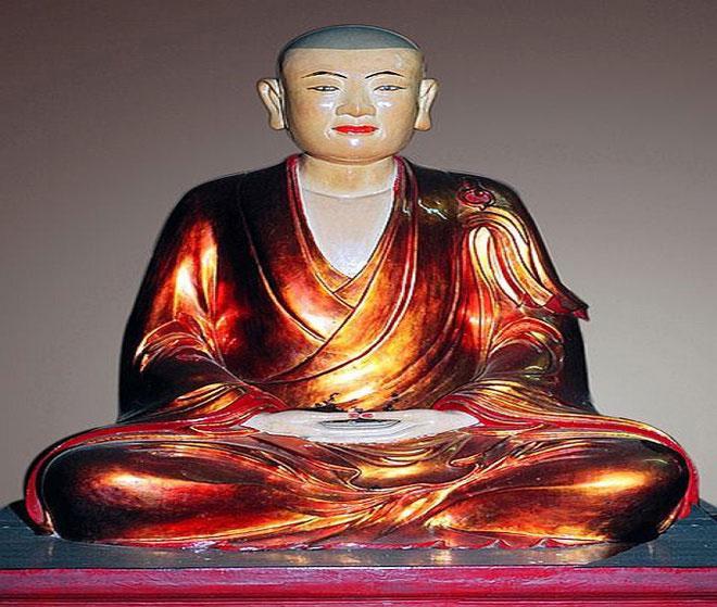 Lý Đạo Tái (1254-1334) là trạng nguyên triều Trần. Sau này, ông xuất gia tại chùa Yên Tử. Trạng nguyên Lý Đạo Tái đổi pháp danh thành Huyền Quang đại sư, trở thành học trò xuất sắc của Phật hoàng Trần Nhân Tông. Ảnh: Phatgiao.org.vn.