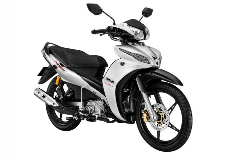 Yamaha Jupiter phiên bản RC màu bạc - đen.