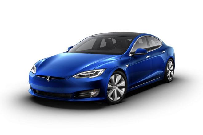 2. Tesla Model S Long Range Plus (phạm vi hoạt động/lần sạc: 652 km).