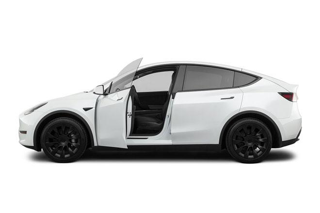 5. Tesla Model Y Long Range (phạm vi hoạt động/lần sạc: 525 km).