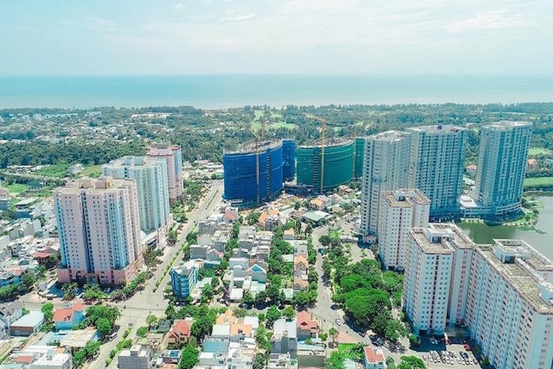 Dự án Khu trung tâm Chí Linh tại TP. Vũng Tàu do DIC Corp làm chủ đầu tư.