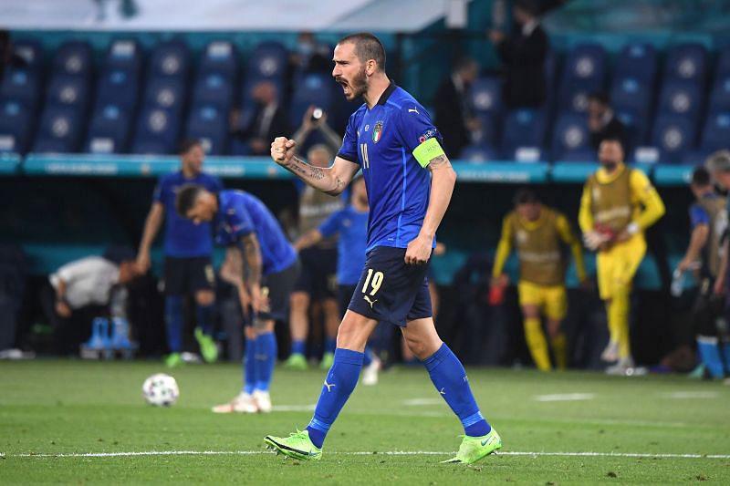 Trung vệ: Leonardo Bonucci (Italia).