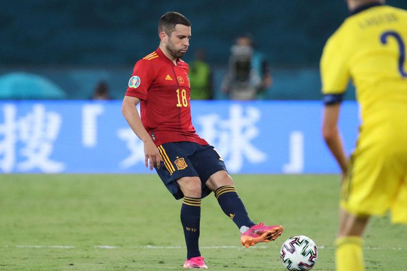 Hậu vệ trái: Jordi Alba (Tây Ban Nha).