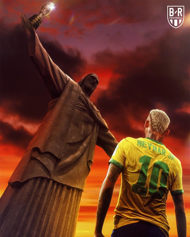 ĐT Brazil vào chung kết Copa America 2021. (Ảnh: Bleacher Reports)