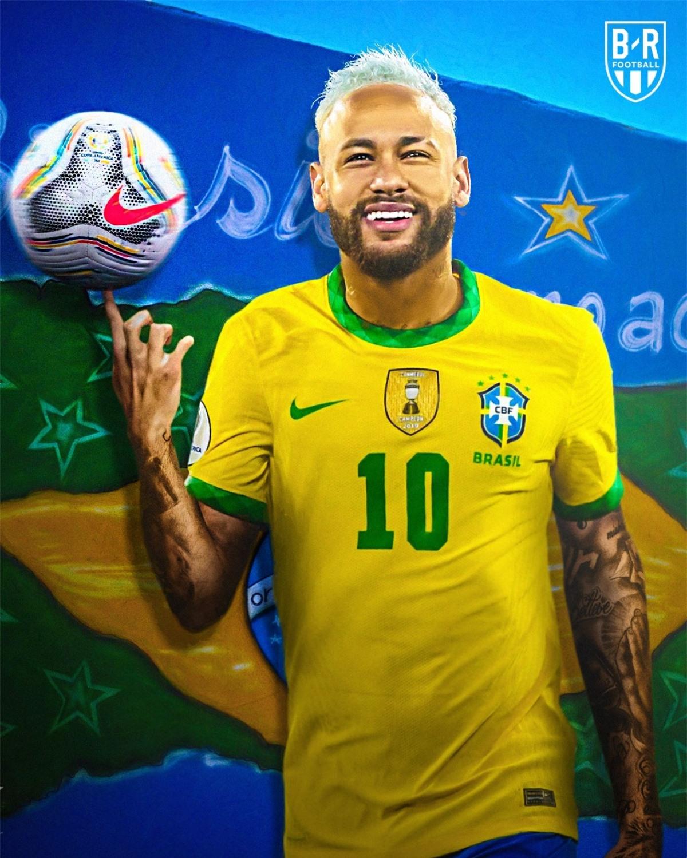 Nguồn cảm hứng mang tên Neymar. (Ảnh: Bleacher Reports)