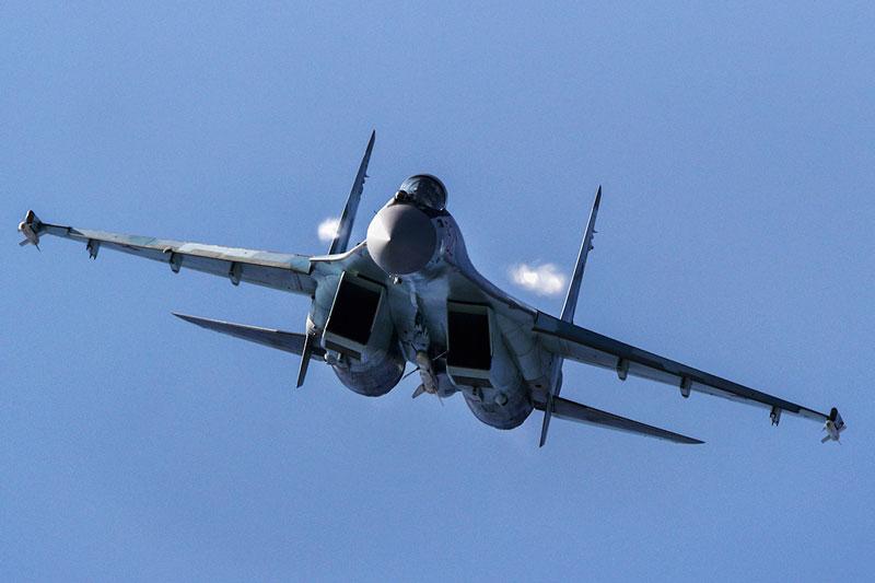 Ai Cập máy bay chiến đấu Su-35 của Nga.