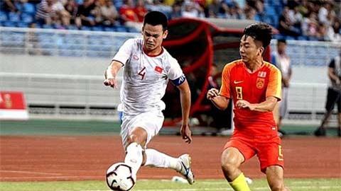 'ĐT Trung Quốc khó chơi bóng ngắn với ĐT Việt Nam, kể cả đá xấu'