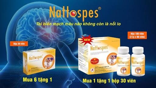 Thực phẩm bảo vệ sức khỏe Nattospes.