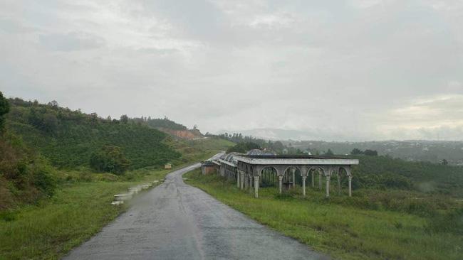 Hiện trạng dự án Khu Đô thị Thương mại, Du lịch, Nghỉ dưỡng Sinh Thái Đại Ninh tại huyện Đức Trọng, tỉnh Lâm Đồng.