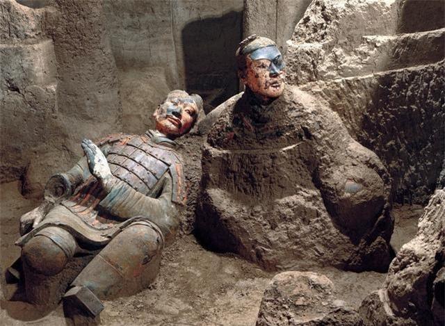 Gương mặt thần bí của một chiến binh trong lăng mộ Tần Thủy Hoàng, chỉ xuất hiện trong 5 phút, để lại 1 bức ảnh, sau đó biến mất - Ảnh 3.