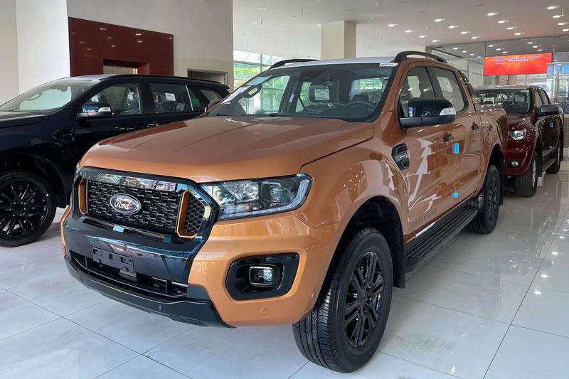 Ford Ranger 2021. Ảnh: Ford Đăk Lăk.