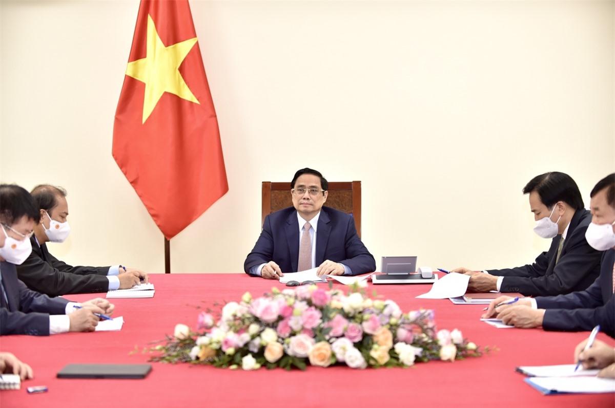 Thủ tướng Phạm Minh Chính điện đàm với Thủ tướng Ấn Độ