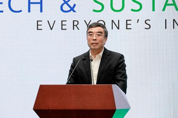 Chủ tịch Huawei Liang Hua phát biểu tại Diễn đàn Công nghệ & Bền vững: Không ai bị lãng quên.