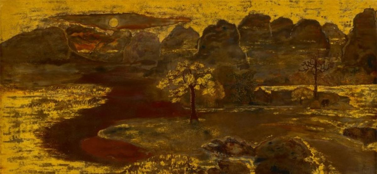 """""""Phong cảnh"""" của Nguyễn Gia Trí."""