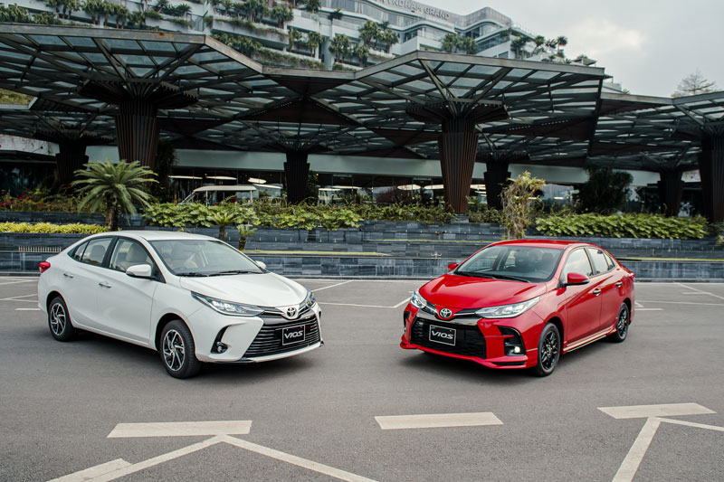 2. Toyota Vios (doanh số: 2.014 chiếc). Ảnh: TMV.