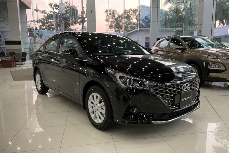 3. Hyundai Accent (doanh số: 1.371 chiếc). Ảnh: Hyundai Hà Đông.