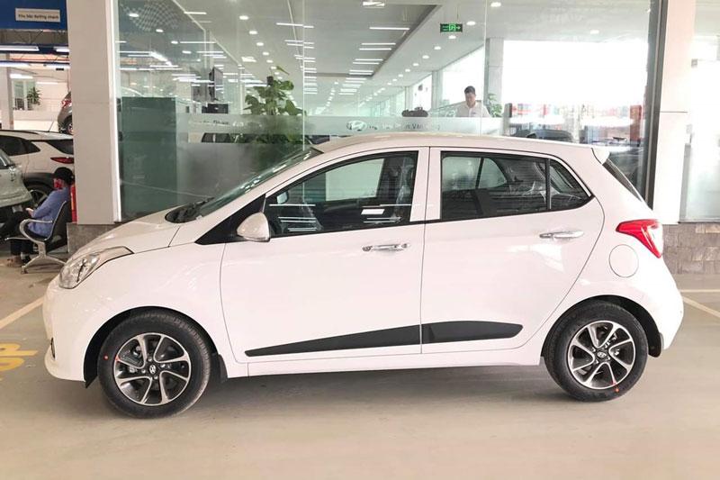 7. Hyundai Grand i10 (doanh số: 983 chiếc). Ảnh: Hyundai Phạm Văn Đồng.