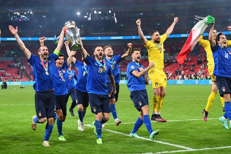 Italia đã trải qua hành trình chông gai.