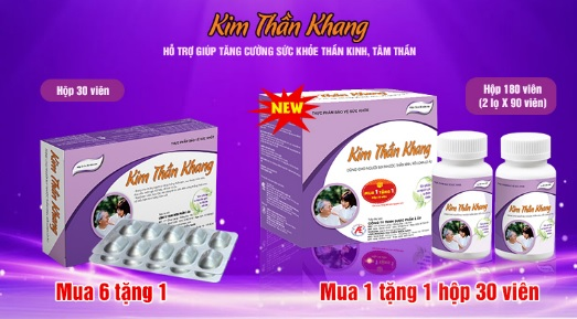 Sản phẩm Kim Thần Khang đã có dạng đóng gói lớn hơn, giúp tiết kiệm chi phí hơn.