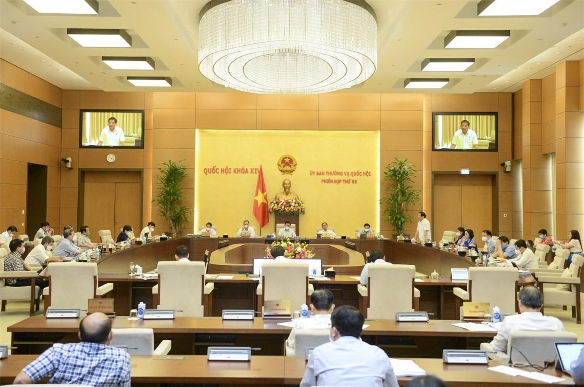Phiên họp 58 Uỷ ban Thường vụ Quốc hội