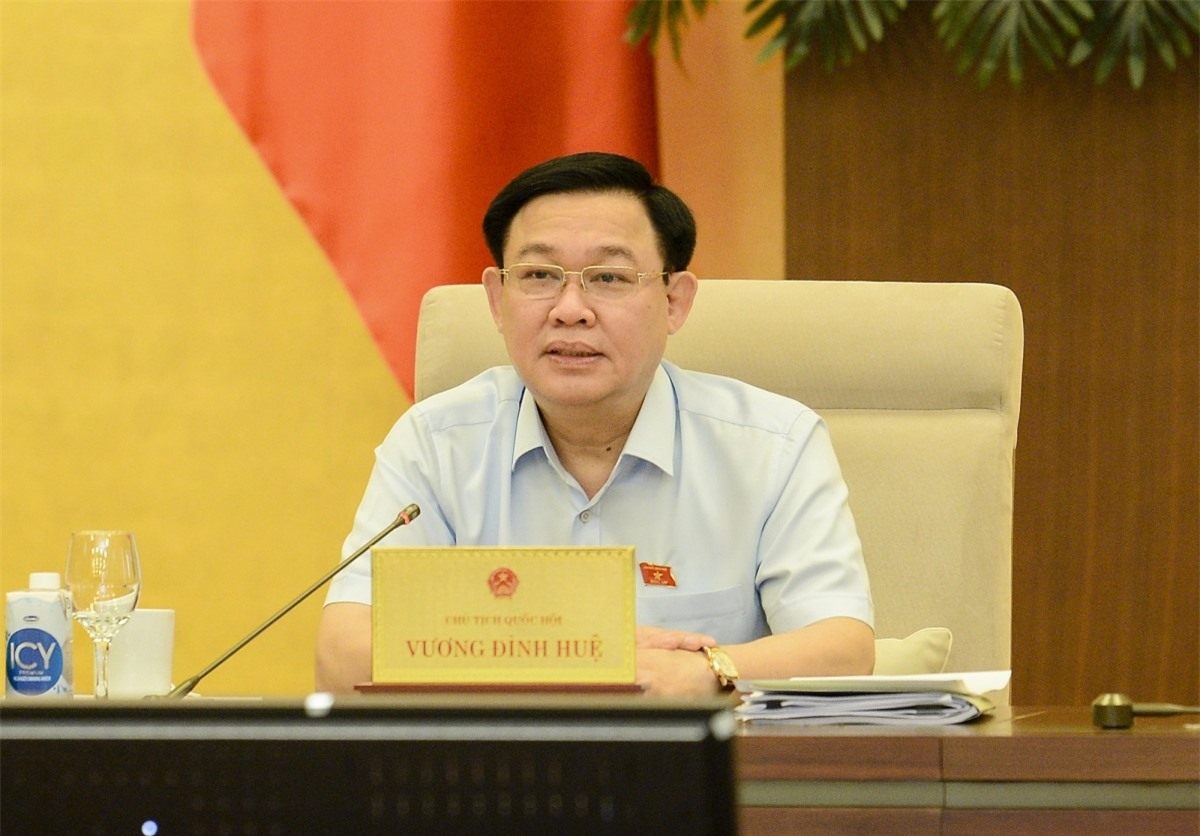 Chủ tịch Quốc hội Vương Đình Huệ