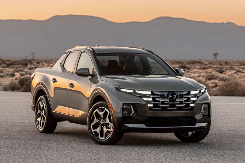 Hyundai Santa Cruz 2022.