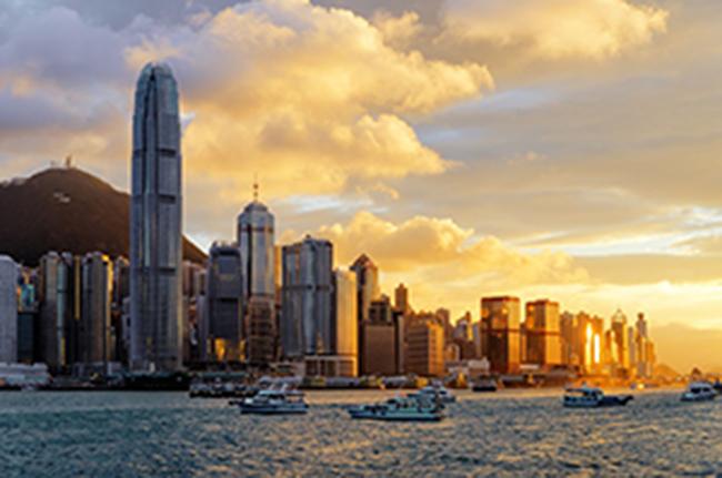 Khung cảnh vịnh Victoria (Hồng Kông) tráng lệ