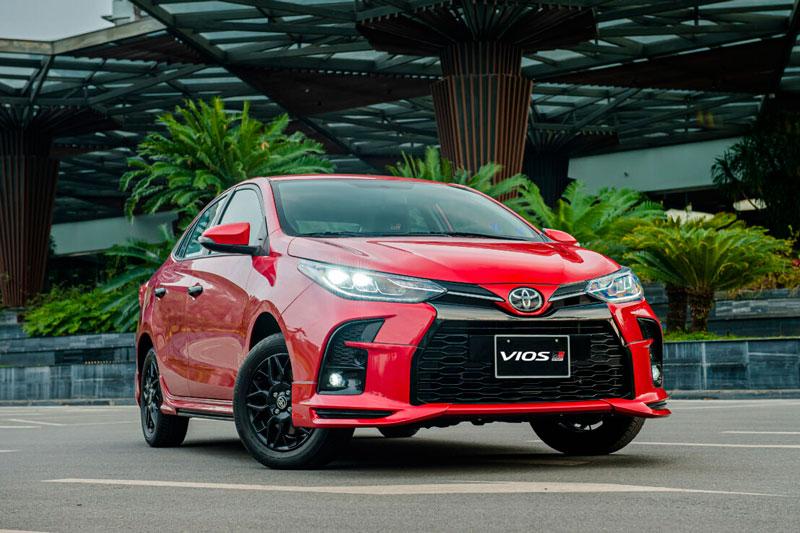 3. Toyota Vios (doanh số: 9.623 chiếc). Ảnh: TMV.