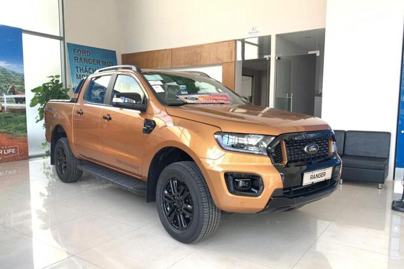 6. Ford Ranger (doanh số: 6.912 chiếc). Ảnh: Ford Quảng Ninh.