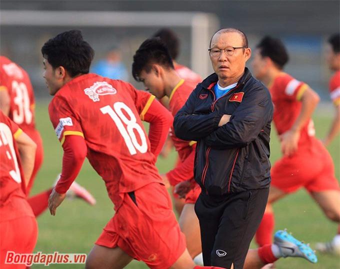 ĐT Việt Nam dự kiến tập trung sớm nếu V.League không diễn ra - Ảnh: Đức Cường