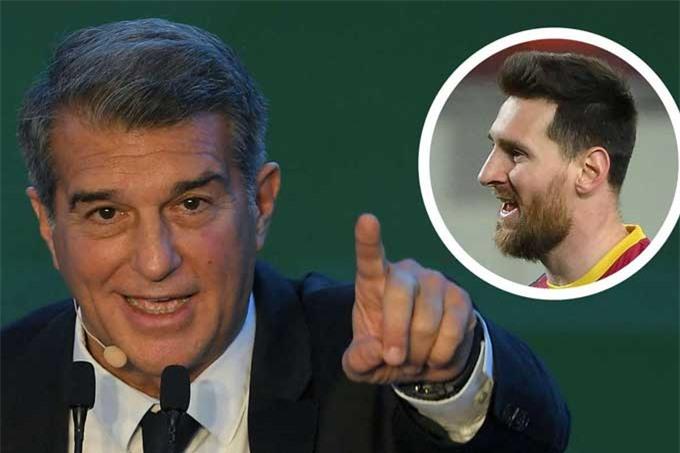 Laporta đã mang tới niềm tin về kế hoạch dài hạn cho Messi