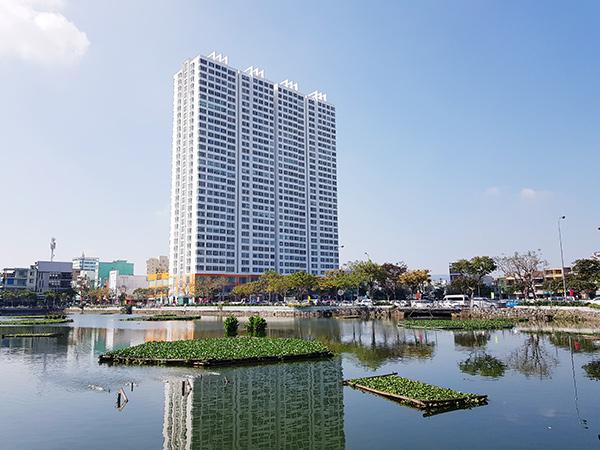 100% mẫu xét nghiệm của 319 người dân sống tại khu chung cư Hoàng Anh Gia Lai bên hồ Thạc Gián đều đã có kết quả âm tính