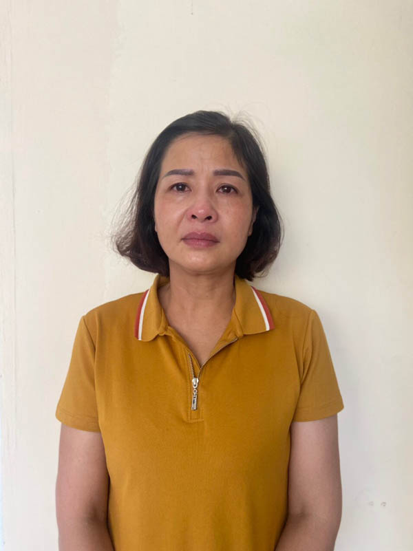 Bị can Phạm Thị Hằng tại Cơ quan điều tra - Ảnh: Bộ CA