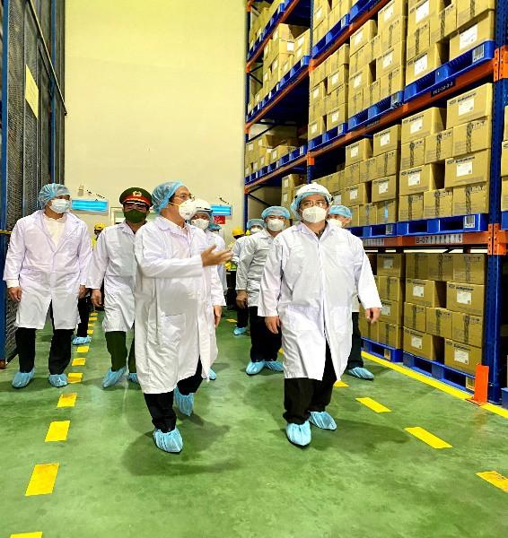 Thủ tướng Phạm Minh Chính đã quan tâm và đánh giá cao năng lực cung ứng thuốc của Savipharm.