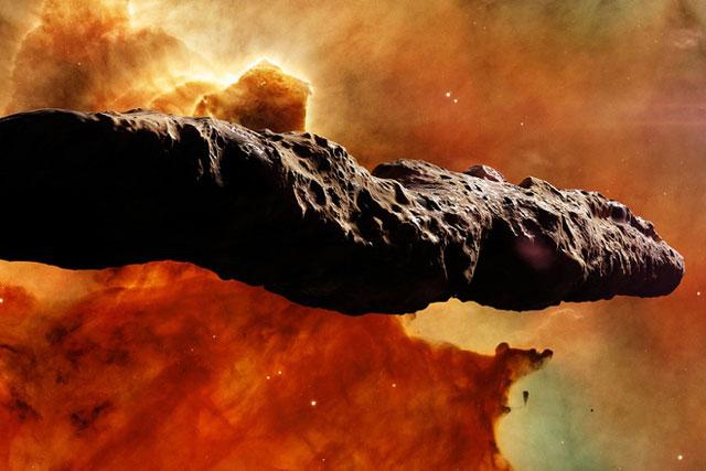 Có mối liên hệ giữa UAP và Oumuamua? Ảnh: Getty Images.