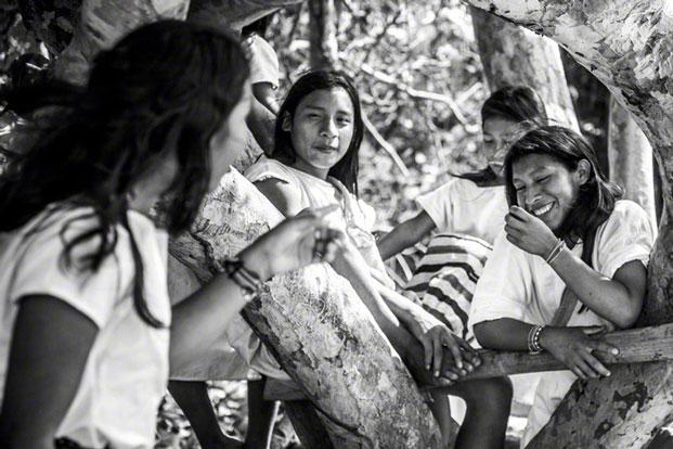 Bộ tộc Kogi sinh sống ở vùng hẻo lánh thuộc khu vực miền núi phía Bắc Colombia. Ảnh: Julian Lennon