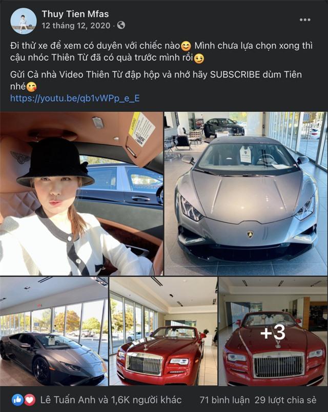 Bộ sưu tập siêu xe, xe siêu sang triệu USD của vợ chồng Thủy Tiên - Đan Trường thuở còn mặn nồng - Ảnh 9.