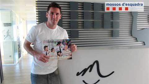 Messi bị nghi liên quan đến đường dây rửa tiền
