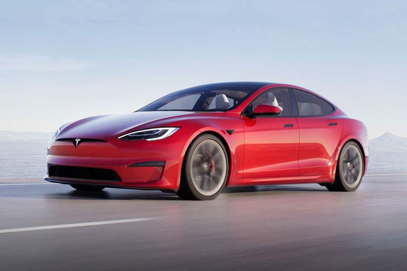 1. Tesla Model S Plaid.