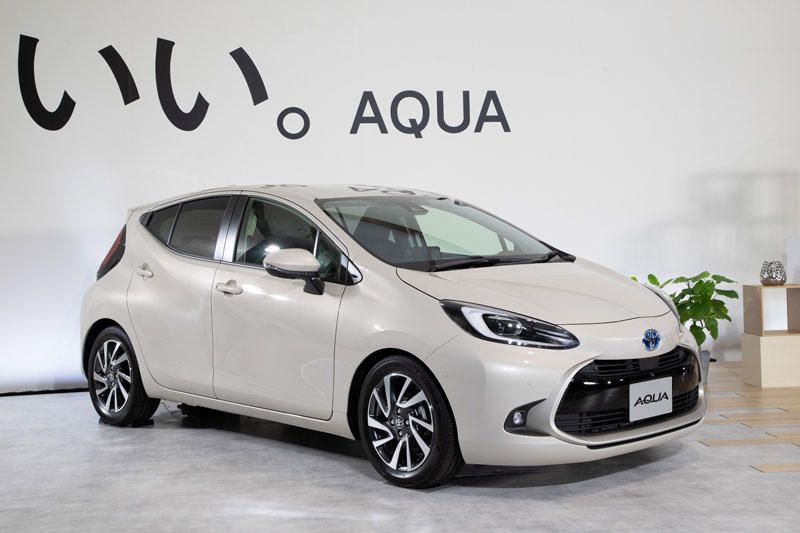 Toyota Aqua 2022.