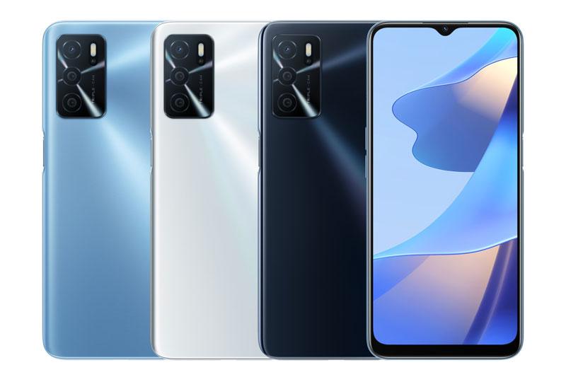 3 màu sắc của Oppo A16.