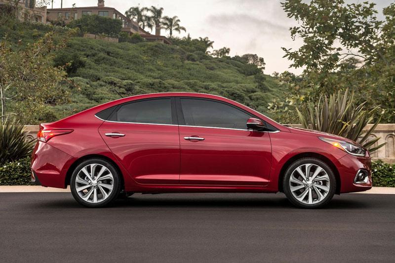 8. Hyundai Accent 2021.