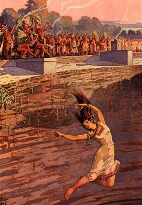 Cô dâu thủy thần – Tục hiến tế rùng rợn và đẫm máu của người Maya - Ảnh 4.