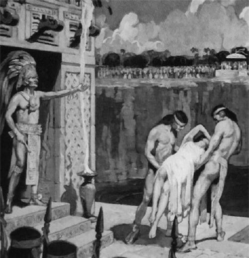 Cô dâu thủy thần – Tục hiến tế rùng rợn và đẫm máu của người Maya - Ảnh 5.
