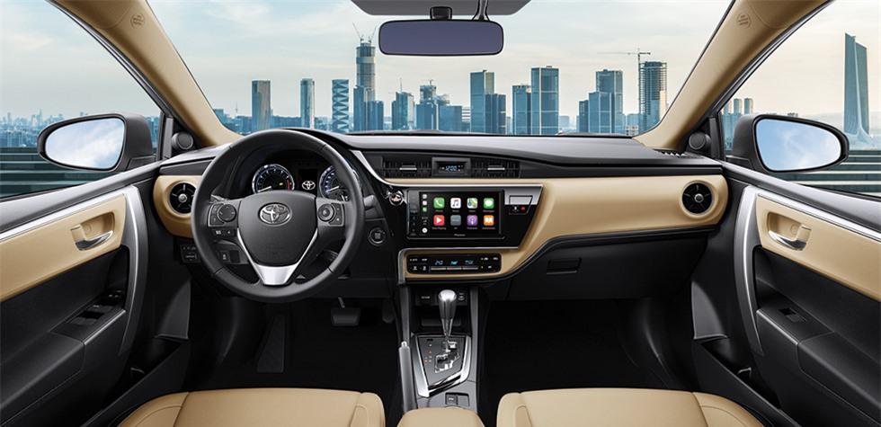 Trang bị của Toyota Corolla Altis