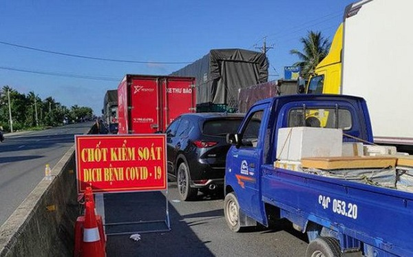 Bình Dương: Các phương tiện khi qua chốt kiểm dịch không cần cấp mã QR