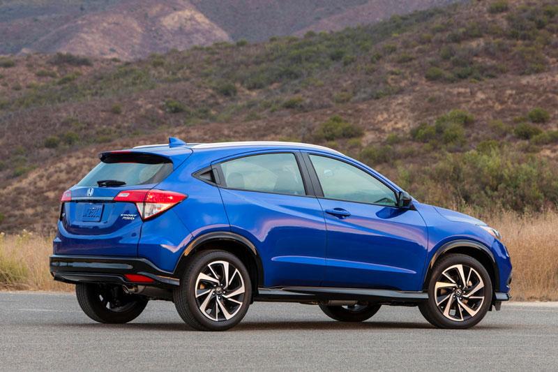 5. Honda HR-V 2021.