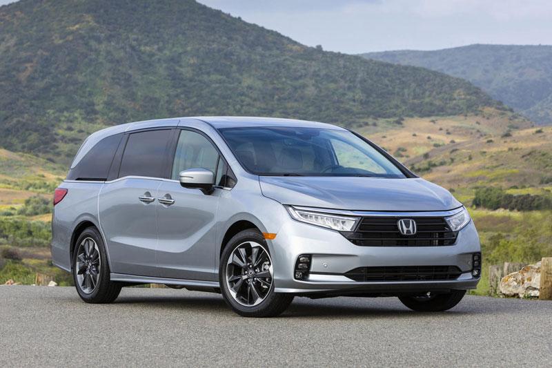 6. Honda Odyssey 2021.
