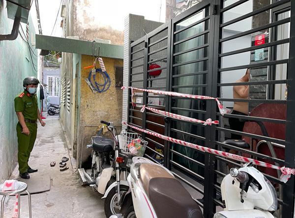 Lực lượng chức năng phường Tân Chính (quận Thanh Khê, Đà Nẵng) phong tỏa kiệt 276 Lê Duẩn vừa phát hiện 2 ca dương tính ngày 21/7
